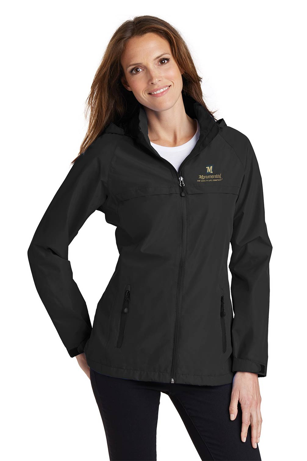custom design of Port Authority  L333 - Ladies Torrent Waterproof Jacket