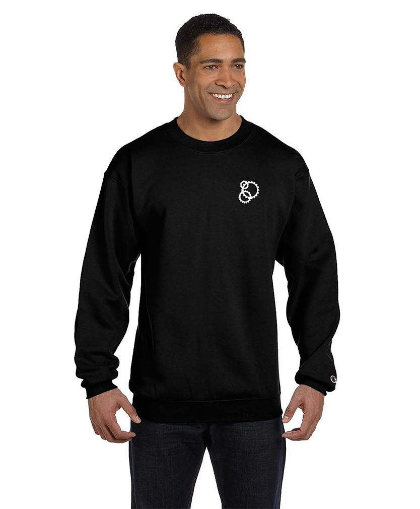 custom design of Champion S600 - Double Dry Eco Crewneck Sweatshirt