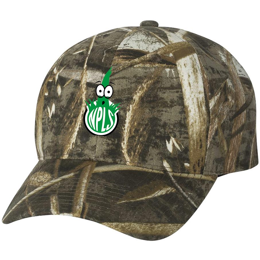 custom design of Outdoor Cap 301IS Camouflage Cap