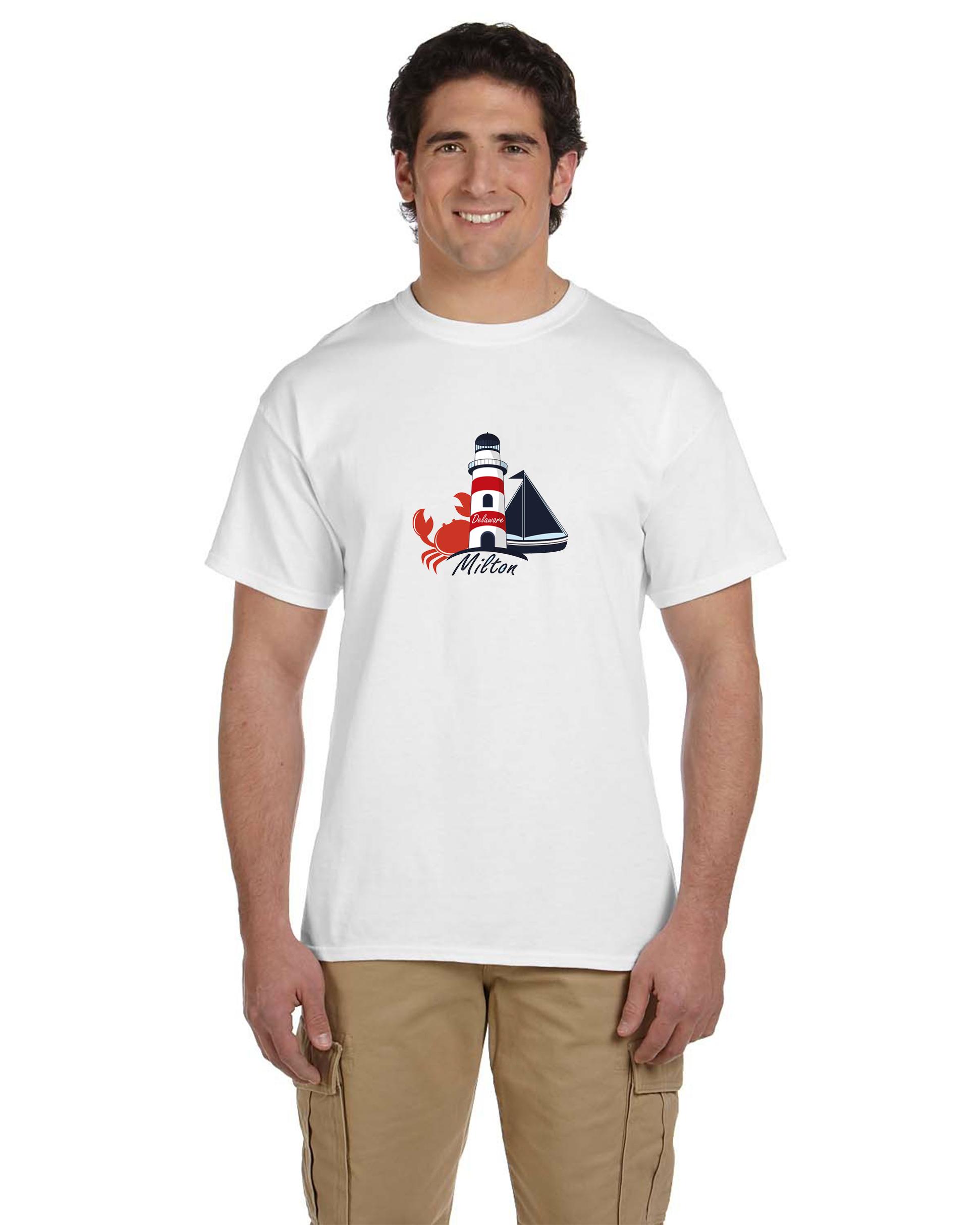 custom design of Hanes® 5170 ComfortBlend® EcoSmart® 50/50 Cotton/Poly T-Shirt