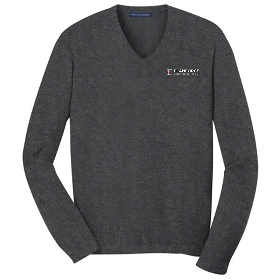 custom design of Port Authority® SW285 - V-Neck Sweater