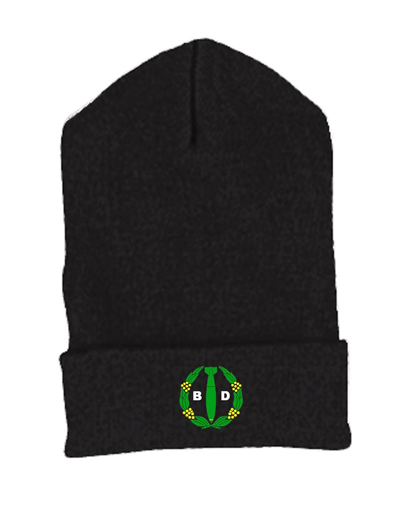 custom design of Yupoong 1501  Cuffed Knit Cap