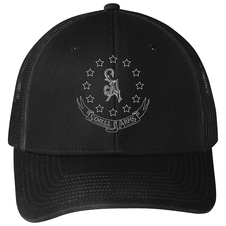 custom design of Port Authority C112 - Snapback Trucker Cap