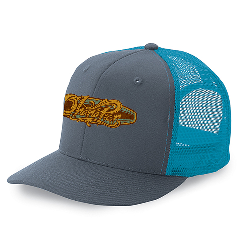 custom design of Cobra TRUCK-6 - 6 Panel Trucker Cap Twill/Mesh