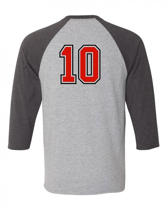 Hanes 42BA - X-Temp Three-Quarter Sleeve Baseball T-Shirt