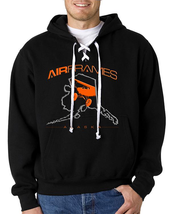 custom design of MV Sport 476 - Hooded Hockey Sweatshirt