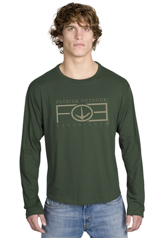 custom design of    District Threads DT105 Long Sleeve Perfect Weight District Tee.