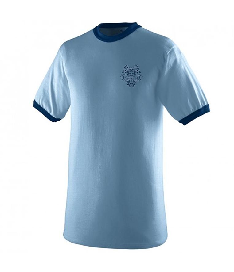custom design of Augusta Sportswear 710 Ringer T-Shirt
