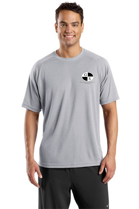 custom design of Sport-Tek® T473 Dry Zone™ Short Sleeve Raglan T-Shirt