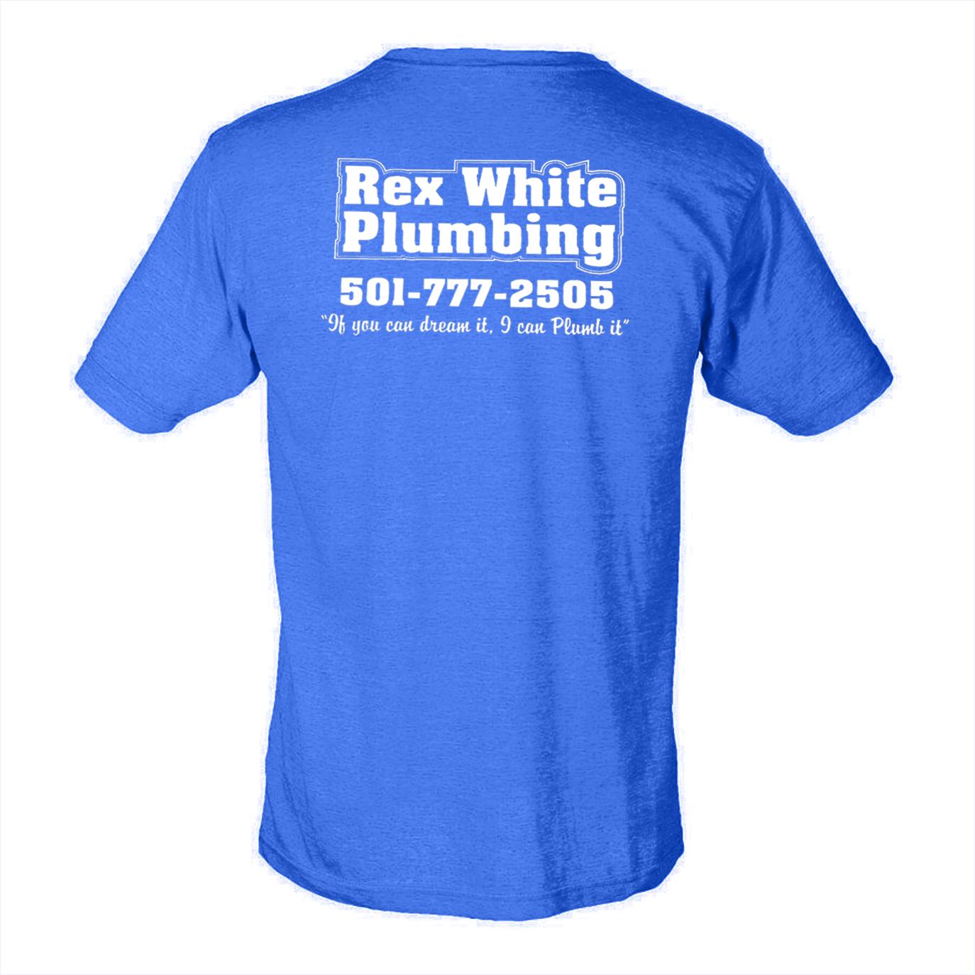 custom design of Tultex 0241 - Unisex Poly-Rich Blend T-Shirt