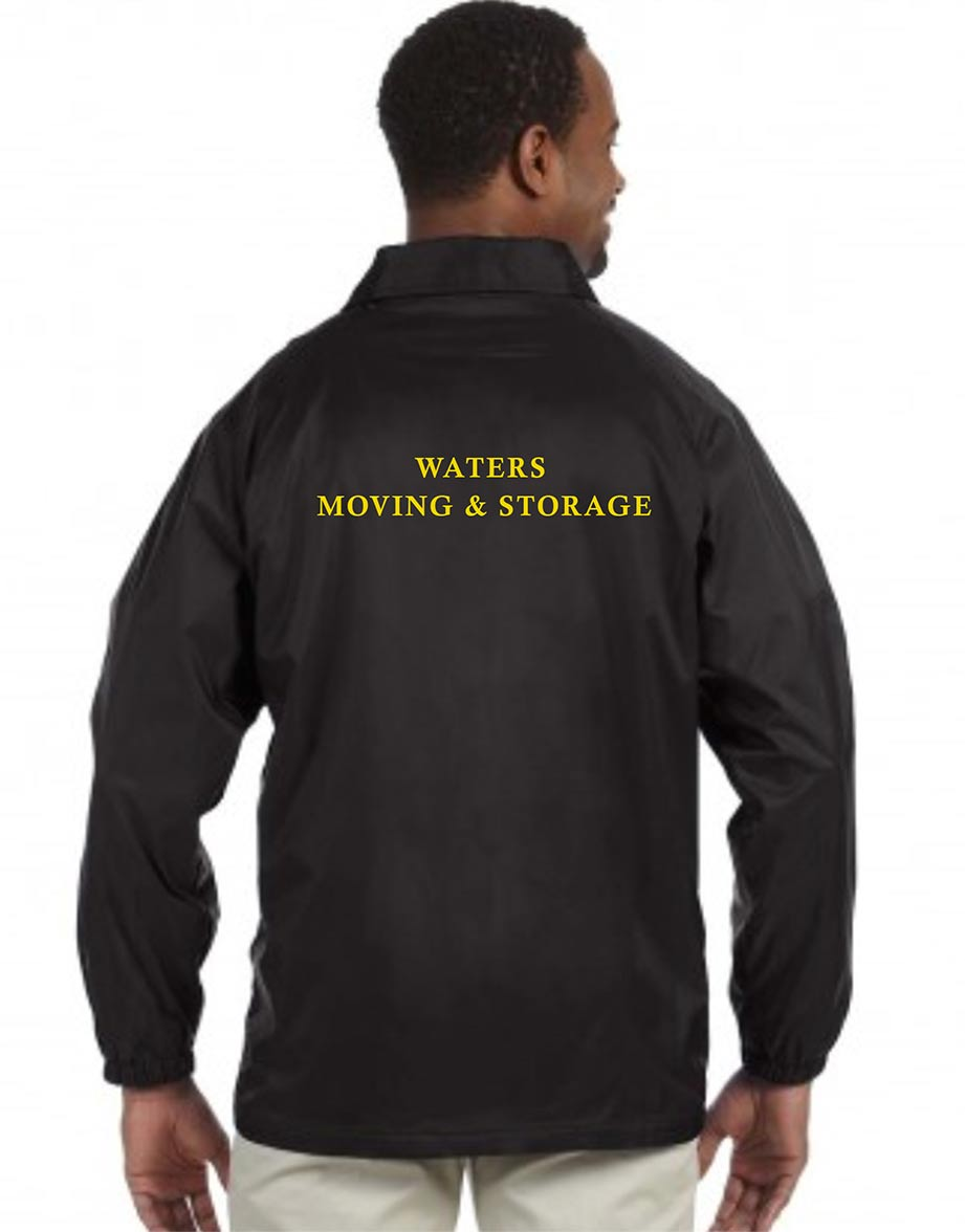 custom design of Harriton M775  Staff Jacket
